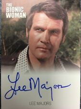 Bionic Collection The Bionic Woman Autograph Card Lee Majors as Steve Austin
