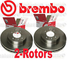 Set of 2 BREMBO Front Brake Rotor's Acura Integra Honda Civic Fit Insight NEW
