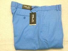 RLX Ralph Lauren Performance Fabric Paisley Rain Drop Golf Pants 34x30 NWT $165