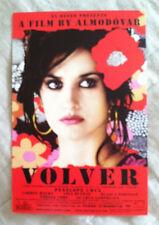 Volver starring Penelope Cruz - Rare Promo Postcard for Pedro Almodovar Film