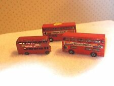 2-1972 Lesney Matchbox No.17 The Londoner Berger Paints Label & Routemaster