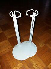 Puppenständer verstellbar von ca 30-20 cm Holzfuß Metall Halter für Puppen
