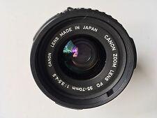 Canon FD 35-70mm F3.5-4.5 obiettivo messa a fuoco manuale