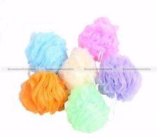 10PCS Bath Shower Soap Bubble Body Wash Exfoliating Puff Sponge Mesh Net Ball S3