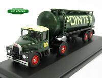 BNIB OO GAUGE OXFORD 1:76 76SHT002 Scammell Highwayman Tanker Pointer Lorry