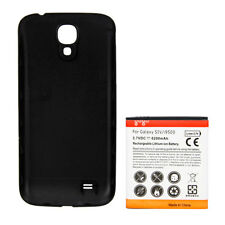 New 6200mAh Extended Battery + Back Cover for SamSung Galaxy S4 i9500 Black