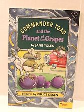 Commander Toad and the Planet of the Grapes by Jane Yolen (1996, Paperback Book)