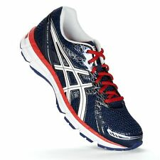 ASICS T423Q GEL-Excite 2 Men's Athletic Sneakers Navy White Red Size 11 D NEW
