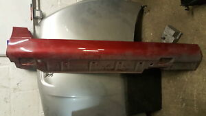 CHRYSLER CROSSFIRE RIGHT SIDE SKIRT SILL COVER OS  RED