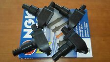 MAZDA RX8 COIL COILS 100C  + NGK WIRES SERVICE KIT