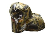 Life Is Simple Eat Sleep Hunt Deer Skull Camouflage Embroidered Cap Hat 908A