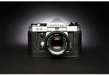 Genuine Leather Half Case for Pentax KX Camera Retro Cover Insert TP Handmade