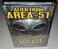 Alien From Area-51 The Alien Autopsy Footage Revealed (Factory Sealed 2012 DVD)