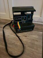 Vintage Polaroid Supercolor 600 Land Instant Film Camera Rainbow Spirit Edition