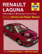 Manuales de reparación y servicios Laguna Renault