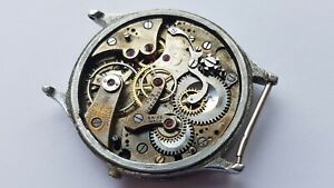 Eberhard chronograph mechanism for parts