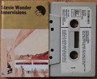 STEVIE WONDER - INNERVISIONS (EMI/MOTOWN TCSTMA8011) 1973 UK CASSETTE TAPE VG