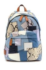 Marc Jacobs Denim Biker Patchwork Backpack MSRP: $550.00