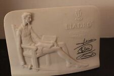 Llardo Collectors Society Plaque Signed 1985