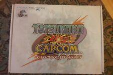 tatsunoko Vs capcom Arcade Fight Stick boxed + game Nintendo Wii