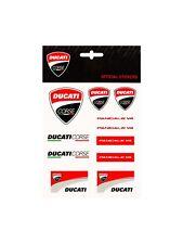 Ducati Corse Stickers Aufkleber Bogen Panigale V4 Medium schwarz rot