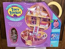Mattel 12493 Bluebird Toys Lucy Locket Polly Pocket Carry N Play Dream House NEW