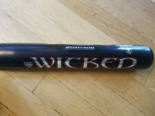 "Worth Wicked Softball Bat Wws40 34"" / 28 oz C405 Alloy 2 1/4 Diameter"