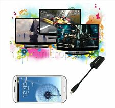 1080p Micro USB MHL To HDMI HDTV Cable Adapter For Samsung Galaxy S5 S4 S3