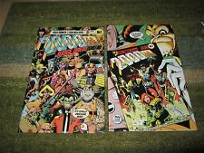 AWESOME LOT OF EARLY JUDGE DREDD  COMICS: 2000 A.D.  #1 ISSUES !!!!