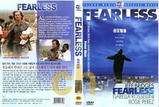 Fearless (1993) - Jeff Bridges, Isabella Rossellini DVD NEW
