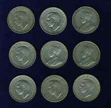 CANADA NICKELS: 1922, 1923, 1927, 1937, 1938, 1939, 1940, 1941, GROUP LOT OF (8)