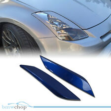 Painted For 350Z Z33 Fairlady Z Coupe Eyelid Eyebrows Headlight Cover 03-08 ◎