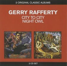 GERRY RAFFERTY CITY TO CITY / NIGHT OWL 2-CD SET (TWO ORIGINAL CLASSIC ALBUMS)