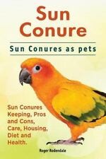Sun Conure. Sun Conures As Pets. Sun Conures Keeping, Pros and Cons, Care, Ho...