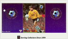 1994 Futera Australia Soccer Cards Best Of Both World BW1 Mark Bosnich-RARE