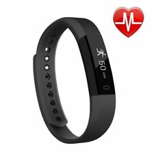 Fitness Tracker Bluetooth Watch Heart Rate Monitor Counter Sleep Track RP £35 Y