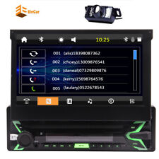 Single 1Din Car Stereo Bluetooth GPS Map 7