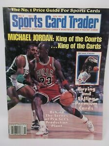 Sports Card Trader Magazine November 1991 MICHAEL JORDAN cover