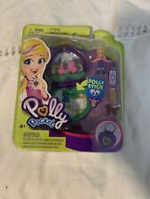 Mattel Mini Polly Pocket Compact with Polly Polly Stick And Picnic Accessories