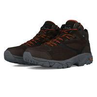 Hi-Tec Mens Nouveau Traction Mid WP Walking Boots Brown Sports Outdoors