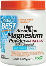 100% Chelated Magnesium Powder, Doctor's Best, 7.1 oz