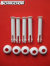 Intex 5 Stück Stift + Gummiring Splint Pin Frame Pool 305 366 457 549 6 cm 60 mm