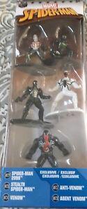 Marvel Spiderman New Figures Toys Die Cast Metal Mini Figures