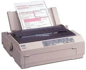 Epson LQ-580 Arztdrucker Nadeldrucker Apothekendrucker Rezeptdrucker LPT #006