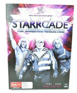 WWE Starcade The Essential Collection 3x DVD Region 4