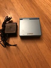 Nintendo Game Boy Advance SP Pearl Blue AGS-101 New battery, with Charger