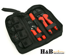 9 in 1 Crimping Crimper Tool Kit 0.5 - 16 mm² Terminals Cable Stripper 10 T0173