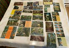 Spanish Moss Legend Lot 43 Antique Vintage Postcards Resell Art Collage Write