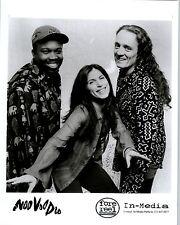 RARE Original Press Photo of Noo Voo Doo an Alternative Rock Band