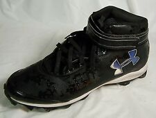 Under Armour Baseball Cleats Men's Size 14 High Top Athletic Sport Sneakers